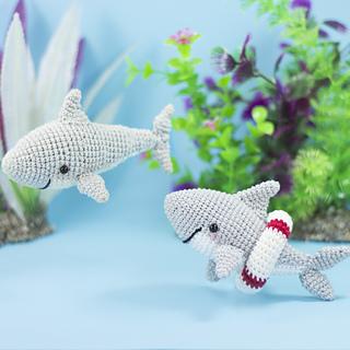 Baby Shark Amigurumi Underwater Friend | Etsy | 320x320
