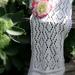 White Diamonds Lace Scarf pattern