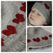 Heart Hat for baby pattern