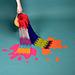 Paint Drip Scarf pattern