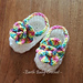 Baby Booties Flower Ballet Shoes pattern