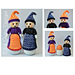 Halloween Witch Egg Cosy Doll pattern