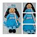Pansy Winter Rag Doll pattern