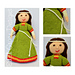 Elvina Medieval Doll 1086 pattern