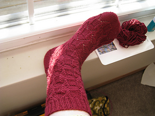 Small Wings sock #1
