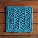 Ripples Dishcloth pattern