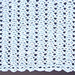 No Beginning Chain Lacy Shell Afghan pattern