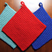 The Best Crocheted Potholder pattern