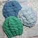 Three Textured Baby Hats pattern