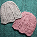 Ribbing and Lace Chemo Caps pattern