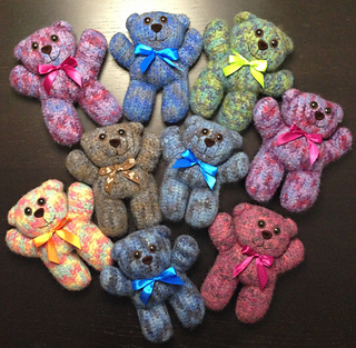 Charity Bear | Crochet bear, Crochet bear patterns, Crochet teddy ... | 313x320