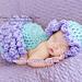 Frilly ruffles - Cuddle Critter Cape Newborn prop pattern