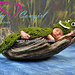 Alligator/Crocodile Cuddle Critter Cape pattern