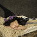 Crafty Witch Hat all Sizes with bonus Cape 0-6 months pattern