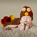 Tommy The Turkey Cuddle Critter Cape Set pattern