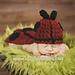 Ladybug -Cuddle Critter Cape- Photography Prop pattern