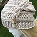 Faux Braid Slouch Hat pattern