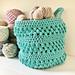 The Bubble Basket pattern