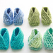 Easiest Baby Booties Ever! pattern