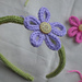 i-cord Flower Hair Band pattern