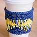 Geometric Coffee Sleeve pattern