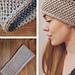 Gravel Headband pattern