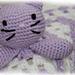 Kitten Comforter pattern