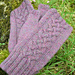 Heather fingerless mittens pattern