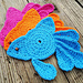 Fancy Goldfish Coaster pattern