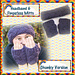 Cabled Headband & Mitts - Chunky Version pattern