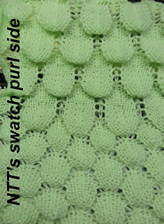 Entity60's Dragon Scales Stitch Pattern for Machine Knitting
