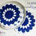 Nil Mal Coaster pattern