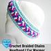 Braided Chains Headband pattern