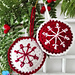 Christmas Baubles pattern