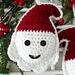 Santa Ornament pattern