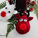 Rudolf the Reindeer Ornament pattern