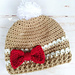 Modern Gingerbread Hat pattern