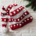 Bobbles and Stripes Santa Hat pattern