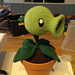 Plants vs. Zombies Peashooter Amigurumi pattern