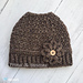 Prim N Posh Messy Bun Hat pattern