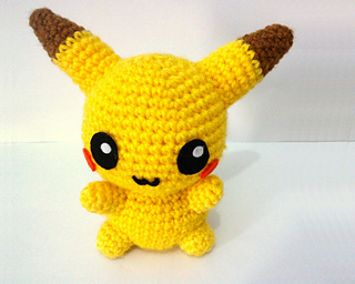 Ravelry: Pikachu Amigurumi pattern by Spin a Yarn Crochet | 256x320