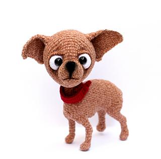 Baby Chihuahua Amigurumi Pattern - [Beginner Friendly] (Crochet ... | 317x320