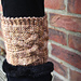 Criss Cross Boot Toppers pattern