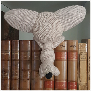 Crochet Fennec Fox Amigurumi Project: British Wool | TOFT | 320x320