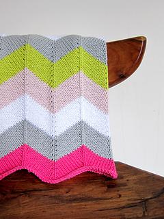 Ravelry Chevron Baby Blanket Pattern