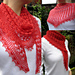 Summer Sprigs Lace Scarf pattern