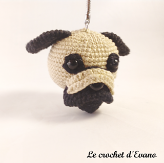 amigurumi pug by jaravee (pattern available) by MERR | Beginning crochet,  Crochet dog patterns, Crochet dog | 319x320