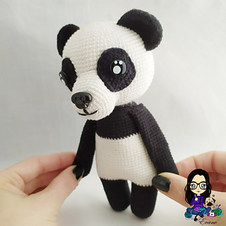 Panda Amigurumi Crochet Tutorial Part 1 - YouTube | 320x320