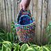 One Handled Hanging Basket pattern