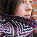 Stella Cowl: Form and Colour pattern